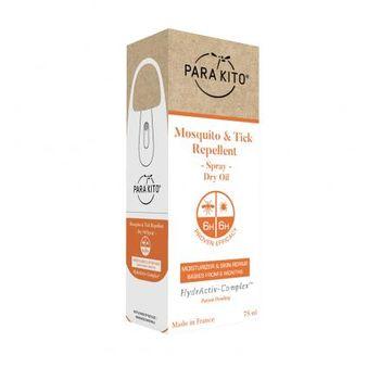 PARA'KITO защита от комаров и клещей с увлажняющим маслом 75ml,  (белый)