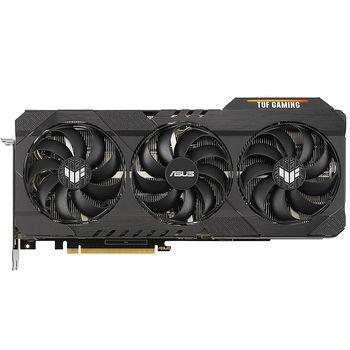 Placa video ASUS TUF-RTX3080TI-O12G-GAMING, GeForce RTX3080Ti 12GB GDDR6X, 384-bit, GPU/Mem speed 1785/19Gbps, PCI-Express 4.0, 2xHDMI 2.1/3xDisplay Port 1.4a (placa video/видеокарта)