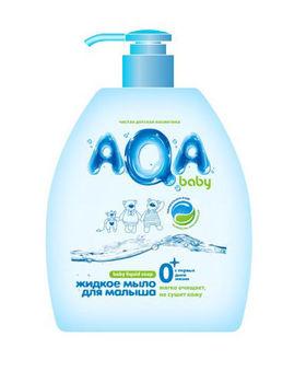 купить AQA baby жидкое мыло для малыша 300 мл в Кишинёве