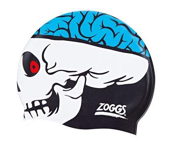 купить Шапочка для плавания Zoggs Junior Character Silicone Cap skull в Кишинёве
