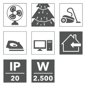 купить Удлинительный кабель Trotec ПВХ 5 м / 230 В / 1,5 мм² в Кишинёве