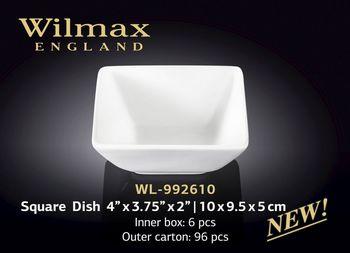Салатница WILMAX WL-992610 (для закусок 10 x 9,5 x 5 см)