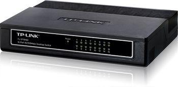 TP-LINK TL-SF1016D, Switch 16-port 10/100 Mbps, Plastic case
