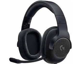 Logitech G433 Black Gaming 7.1 Headset, 7.1 Surround, Headset: 20Hz-20kHz, Microphone: 100Hz-10kHz, 2m, 981-000668 (casti cu microfon/наушники с микрофоном)