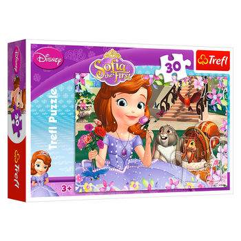 "Пазлы ""30"" - ""Roses/Sofia the First"",код 40236"