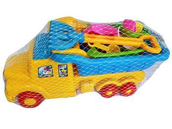 Набор игрушек для песка в машине 12ед, 50X20cm
