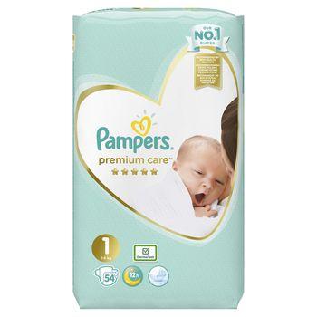 купить Подгузники Pampers Premium Care 1 (2-5 kg) 54 шт в Кишинёве