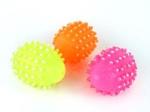 купить Мяч пупырчатый, винил, L-9cm, в Кишинёве