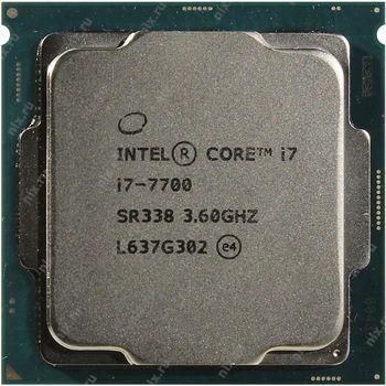 Intel® Core™ i7 7700, S1151, 3.6-4.2GHz, 8MB L3, Intel® HD Graphics 630, 14nm 65W, tray
