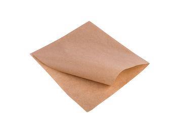 Пакет-уголок из жировлагостойкой бумаги   18*15 см