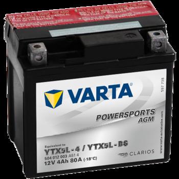 купить Аккумулятор VARTA 12V  60AH YB5L-B (12N5-3B) в Кишинёве