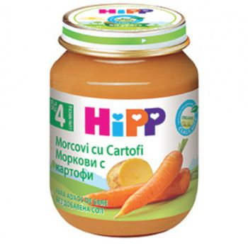 купить Hipp пюре морковь с картофелем 4+мес. 125г в Кишинёве