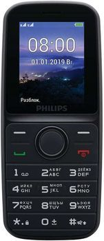купить Philips E109 Dual Sim,Black в Кишинёве