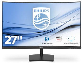 """27.0"""" Philips """"271E1SCA"""", Black"""