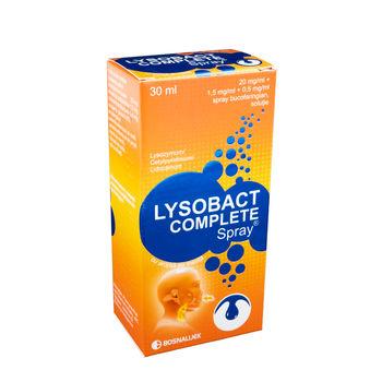 cumpără Lysobact Complete Spray bucofaring. 30ml în Chișinău