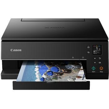 MFD Canon Pixma TS6340 Black, Colour Print/Scan/Copier/Card Readers,Wi-Fi+Cloud Link, A4, ESAT 13/9 ipm, Print 4800x1200dpi_2pl,Scan 1200x2400dpi, 64-300ã/ì2,Paper Input: 100sheets,USB 2.0, Display LCD 7.5cm,5-ink tanks PG-480/481XL BK,PGBK,C,M,Y