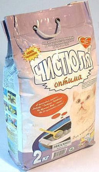 купить Наполнитель для кошачьего туалета Чистюля Оптима в Кишинёве