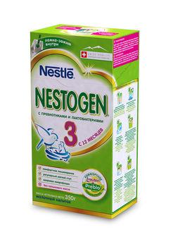 купить Nestogen 3 Prebio молочная смесь с 12 мес. 350г в Кишинёве