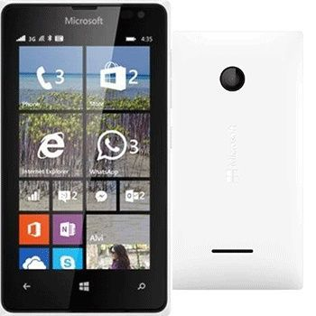 Microsoft Lumia 435 Dual White