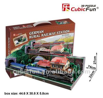 "CubicFun 3D пазл ""Gemany Train station""   (178 деталей)"