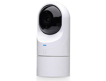 "Ubiquiti UniFi Video Camera G3 Flex UVC-G3-FLEX, 1080p Full HD, 25 FPS, 1/3"" 2-Megapixel HDR Sensor, EFL 4 mm, f/2.0, Microphone, Table/Wall/Ceiling/Pole Mount, Outdoor Weather Resistant, 802.3af PoE, IR LEDs with Mechanical IR Filter"