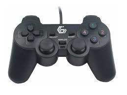 Набор геймпадов GMB JPD-UDV2-01, 4 оси, D-Pad, 2 мини-джойстика, 10 кнопок, Двойная вибрация, USB