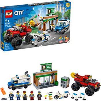 LEGO City Ограбление полицейского монстр-трака, арт. 60245