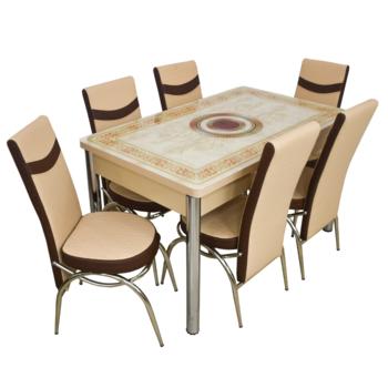 Комплект Келебек ɪɪ 101 + 6 стульев