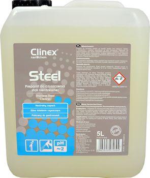 Clinex Steel 5л д/нержавеющей стали