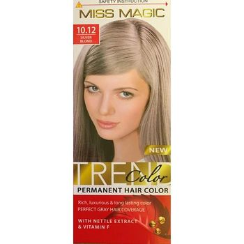 Vopsea p/u păr, SOLVEX Miss Magic, 90 ml., 10.12 - Blond argintiu