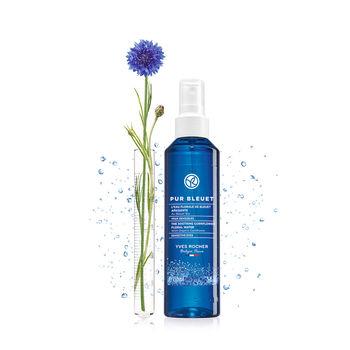 PUR BLEUET Успокаивающая цветочная вода Василька Био - Для чувствительных глаз