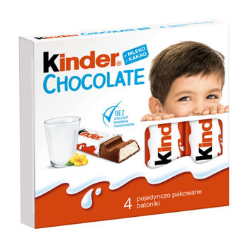купить Kinder Chocolate, 4 шт. в Кишинёве