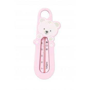 """Термометр для воды """"мишка"""" розовый"""