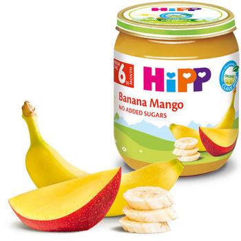 купить Hipp пюре банан и манго, 4+мес. 125г в Кишинёве