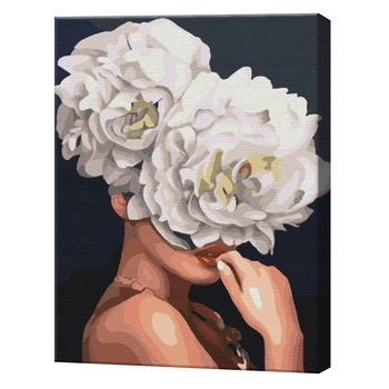 Цветочная фантазия, 40х50 см, картина по номерам BS35670