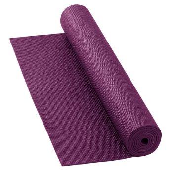 Mat pentru yoga Bodhi Yoga Mat AsanA AUBERGINE -4mm