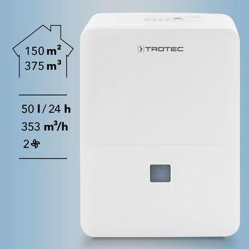 купить Осушитель воздуха Mobil Trotec Comfort TTK 127 E 50 л/день в Кишинёве