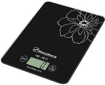 Весы кухонные Hausberg HB-6011 Black