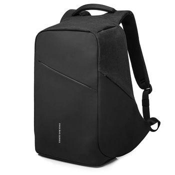 cumpără Rucsac KAKA-808, pentru laptop 15.6'', impermiabil, negru în Chișinău