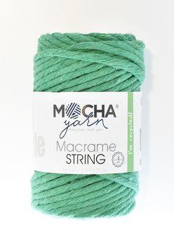 Sfoară Răsucită 4 mm, Verde Smarald