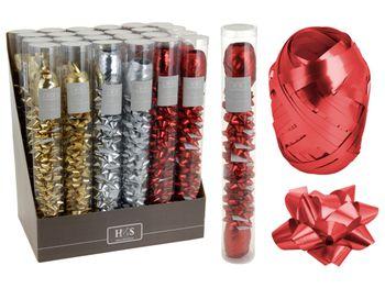 Набор для украшения подарков 2 ленты+12бантов