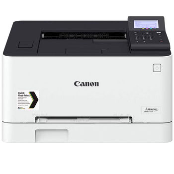 Printer Color Canon i-SENSYS LBP621Cw, Net, WiFi, A4, 18ppm,1GB, 1200x1200dpi, 250+50 sheet tray, 5 Line LCD, UFRII, Max. 30k pages per month, Cart 054HBK/054 (3100/1500ppm) & 054HC/M/Y & 054C/M/Y(2300/1200ppm)