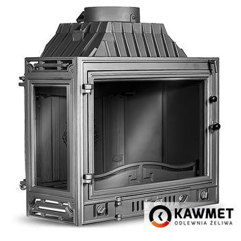 Каминная топка KAWMET W4 14,5 kW с левым боковым стеклом
