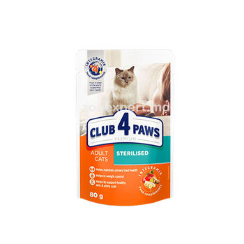 купить CLUB 4 PAWS PREMIUM Sterilised в Кишинёве