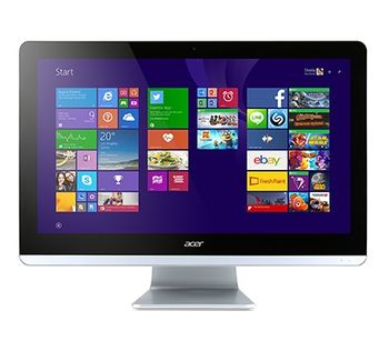 "All-in-One PC - 19.5""  ACER Aspire ZC-700 FullHD (DQ.B50ME.001) Intel® Pentium® J3710 up to 2,64 GHz, 4Gb DDR3 RAM, 500Gb HDD, DVDRW, Card Reader, Intel® HD Integrated Graphics, Wi-Fi/BT, Gigabit LAN, 65W PSU, FreeDOS, USB KB/MS, Black"
