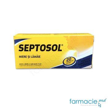 купить Septosol cu miere si lamaie comp. N20 в Кишинёве