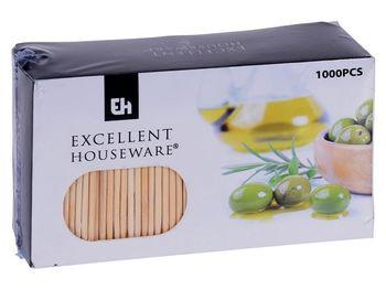 Зубочистки в картонной упаковке EH 1000шт