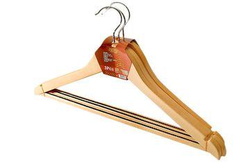 Набор вешалок деревянных 3шт