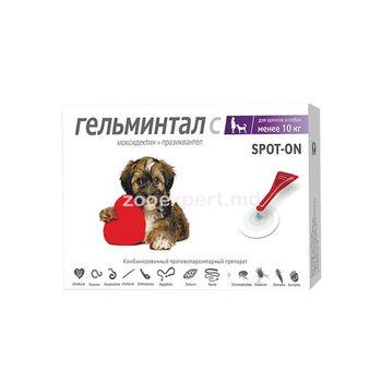 купить Гельминтал Spot-on для собак менее 10 кг в Кишинёве