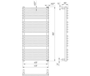 Премиум Турин 900x430/400